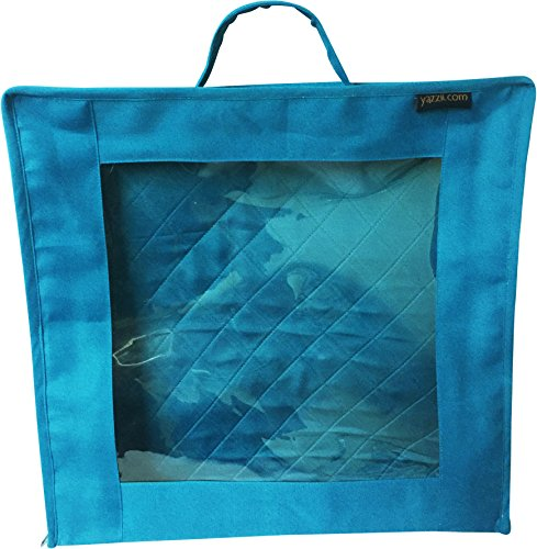 Yazzii Fabric/Quilt Block Showcase Bag - Aqua