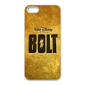 bolt logo iPhone 5 5s Cell Phone Case White 53Go-150916