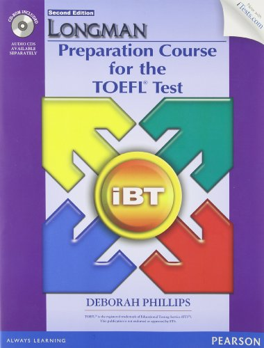 Longman Prep TOEFL iBT w/CD-ROM & iTest without AK (2nd Edition)