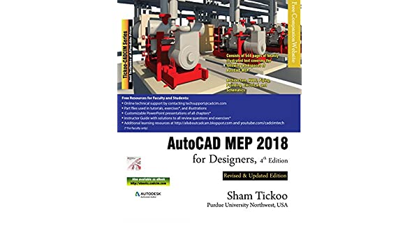 AutoCAD MEP 2018 for Designers, 4th Edition, Prof  Sham Tickoo