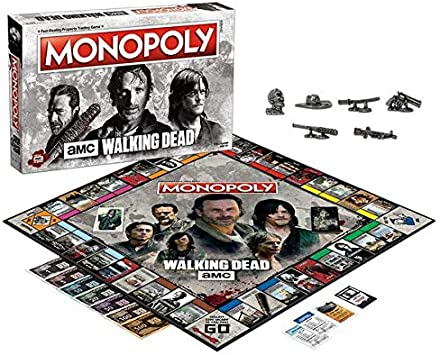 Winning Moves Monopoly - The Walking Dead Merchandising Ufficiale: Amazon.es: Juguetes y juegos
