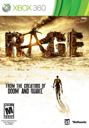 Rage Xbox 360 Bethesda Softworks Inc Video Games