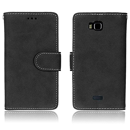 SRY-screen protectors Huawei Honor Bee Y541 Y5C Case, PU Leather Case Cover with Wallet Function Card Slots Photo Frames for Huawei Honor Bee Y541 Y5C ( Color : 1 )