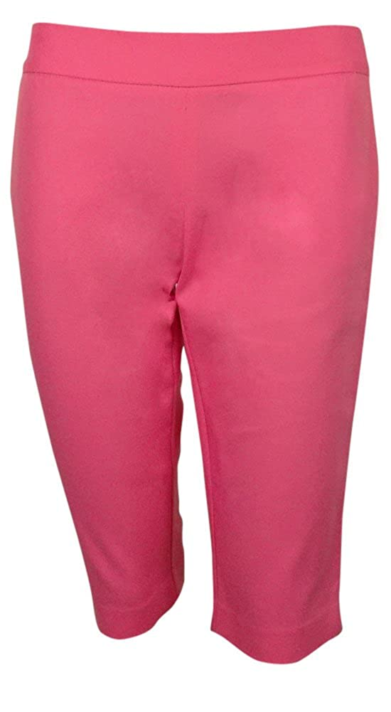 Charter Club Women's Modern Fit Slimming Skimmer Pant Pink)