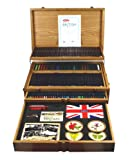 Derwent Best of British Wooden Box, 165 Fine Art Pencils and Accessories (2300674)