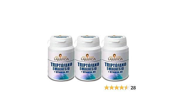 Pack Ana M LaJusticia Triptófano con Magnesio Pack 3 X 60 caps: Amazon.es: Salud y cuidado personal