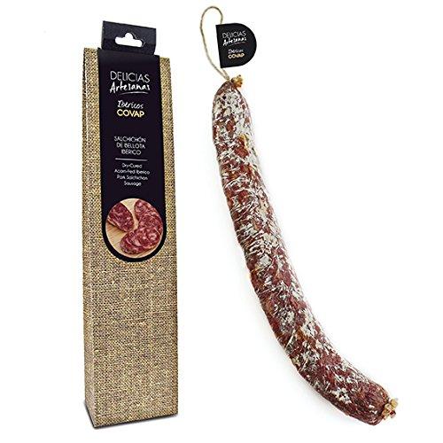 Salchichón Ibérico de Bellota, Delicias Artesanas de Ibéricos COVAP, 275 g: Amazon.es: Alimentación y bebidas