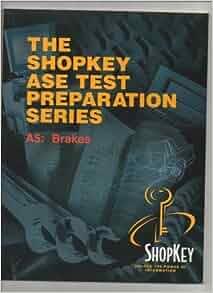 SHOPKEY ASE Test Preparation Series 6 Book Set A1 A2 A6 A7 A8 L1 Snap-On Tools
