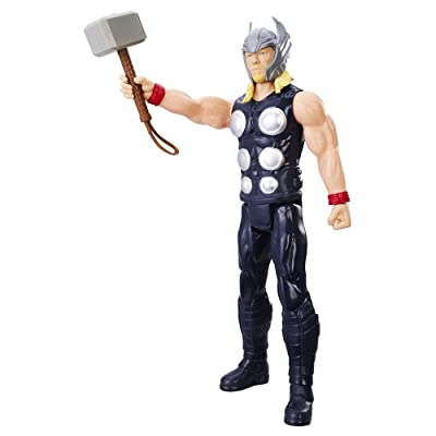 Avengers Marvel Titan Hero Series 12-inch Thor Figure: Toys & Games