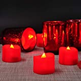 Homemory Flameless Candles, Pack of 24 Flickering