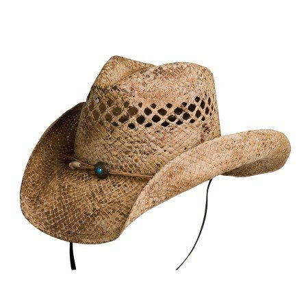 Conner Hats Women's Sadie Western Shapable Raffia Hat, Coffee, OS by Conner Hats (Image #2)