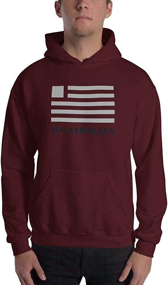 US Airways Unisex Hooded Sweatshirt