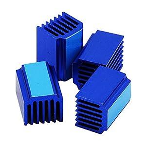 Homyl 4Pcs 3D Printer Parts TMC2100 Stepper Motor Driver Heat Sinks Cooling Block from Homyl