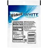 Trident White Peppermint Sugar Free Gum, 180 Pieces
