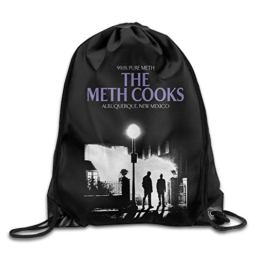 Price comparison product image Creative Design The Meth Cooks Drawstring Backpack Sport Bag For Men And Women