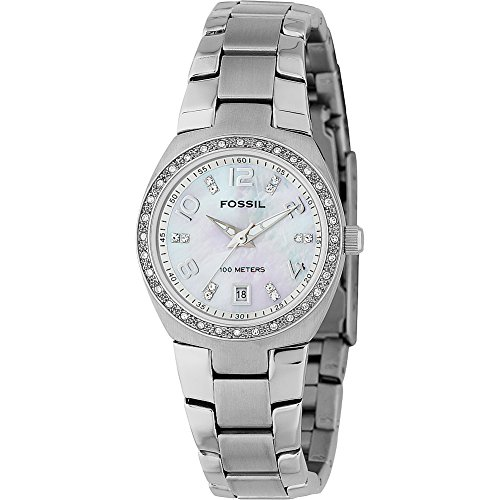 Fossil-Womens-AM4141-Serena-Silver-Tone-Stainless-Steel-Watch-with-Link-Bracelet