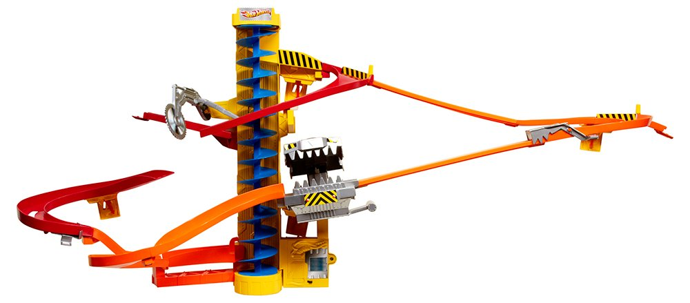 Amazon Hot Wheels Wall Tracks Power Tower Trackset Toys Games