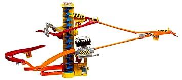 Hot Wheels Wall Tracks Power Tower Trackset: Amazon.co.uk: Toys & Games