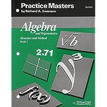 McDougal Littell Structure & Method: Practice Masters (Blackline) Book 2