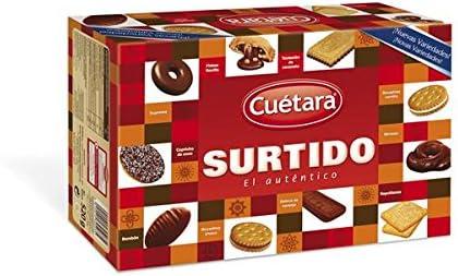 Cuetara - Surtido el Auténtico - Surtido de Galletas - 520 g ...
