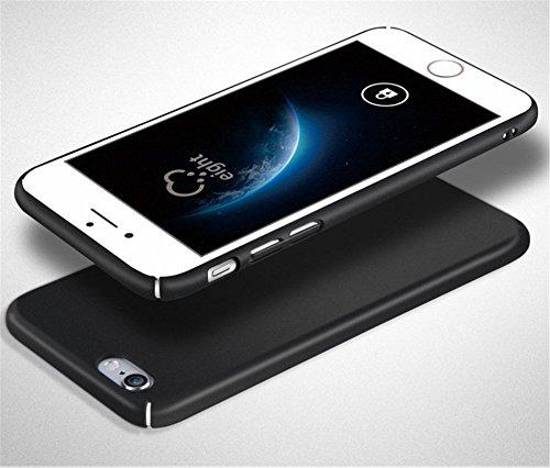 Funda iPhone 6/6s,Wouier® con Bumper Carcasa pulgadas 360° Protective Case Anti-rasguños Estuche PC ultrafina Slim Protectora Caso de la Cubierta para iPhone 6/6s Azul