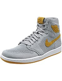 Nike Mens Air 1 High Flyknit Basketball Shoes