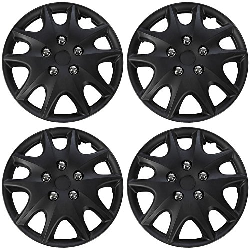 hub-caps-for-select-toyota-solara-pack-of-4-14-inch-black-wheel-covers