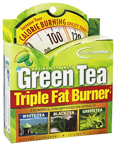 Applied Nutrition Maximum Strength Green Tea Triple Fat Burner, Liquid Soft-Gels - 30 Ea