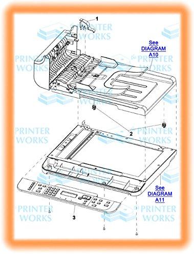 HP CE538-40031 OEM - Solar lock, document feeder