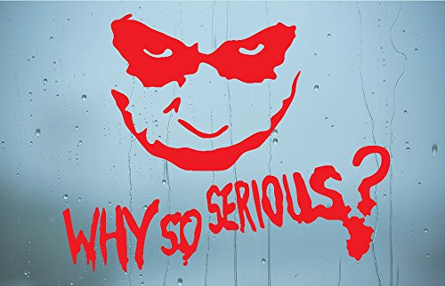 Joker Why So Serious The Dark Knight