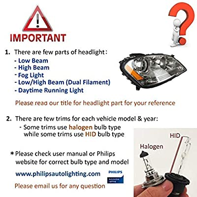 SOCAL-LED 2x D2S HID Bulbs 35W AC Factory Xenon HID Headlight Direct Replacement 8000K Iceberg Blue: Automotive