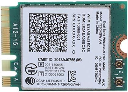 ASHATA para Intel 7260NGW UN Adaptador de Red Inalámbrica ...