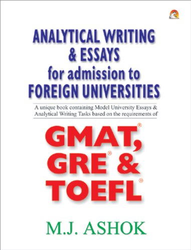 Cheap price ANALYTICAL WRITING & ESSAYS FOR ADMISSION FOREIGN UNIVERSITIES