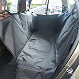 Xcellent Global Pet Car Seat Cover Waterproof - Scratch Proof & Nonslip Dog Hammock Bed Mat Black PT033B
