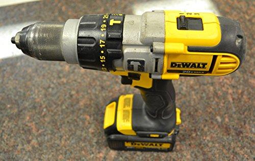 DEWALT DCD985 20-Volt MAX Lithium Ion 1/2-Inch Hammer Drill/Drill Driver