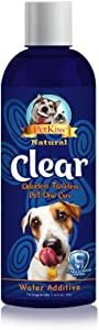 Pet Kiss Clear C-PT16-2030 Odorless Tasteless Plaque and Tartar Control Water Additive, 16 oz.