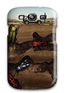 Flexible Tpu Back Case Cover For Galaxy S3 - Jeep