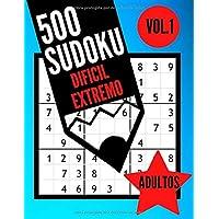 500 Sudoku dificil extremo adultos Vol.1: Libro Sudoku para adultos | 500 Sudoku experto - 9x9 con soluciones - | Juego Sudoku muy dificil | Libro de ... cm ) (BMA Sudoku Experto) (Spanish Edition)