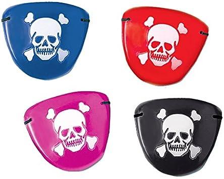 2X Pirate Eye Patch Skull Crossbone Halloween Party Favor Costume Kids Toy JB