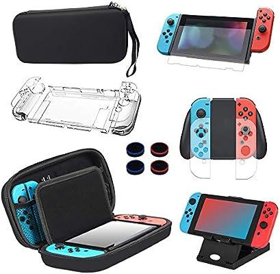 Kit de Accesorios 13 en 1 Para Nintendo Switch, Funda Protectora ...