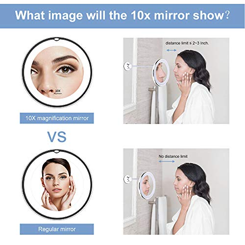 Buy lighted mirrors for makeup