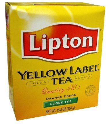 India Orange Tea (Lipton Yellow Label Tea (loose tea) -)