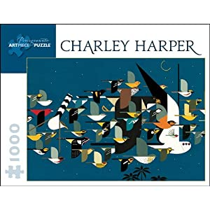Charley Harper Mystery Of The Missing Migrants 1000 Piece Puzzle Inglese Giocattolo 15 Dic 2009