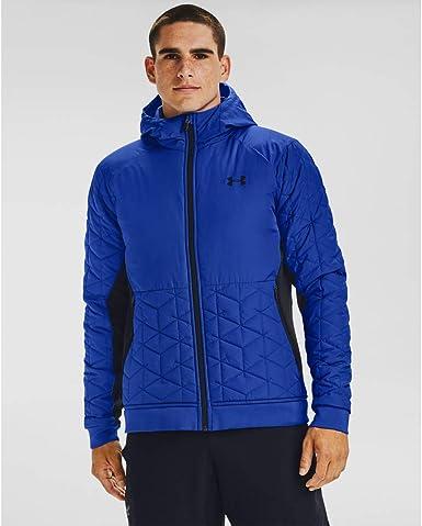 considerado Alicia Óptima  Under Armour Men's ColdGear Reactor Performance Hybrid Jacket , Emotion  Blue (401)/Black , XX-Large: Amazon.de: Bekleidung