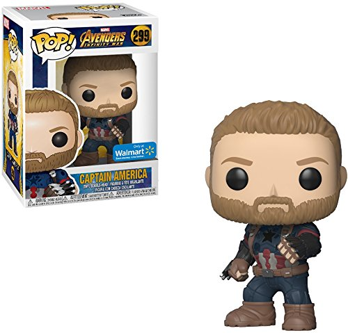 Pop Funko Marvel: Avengers Infinity War - Captain America Walmart Exclusive