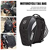 benefit-X Motorcycle Backpack Waterproof Motorbike Helmet Backpack with Reflective Strips a Elastic Storage Cord Multi-Function Motorcycle Backpack 11.81 11.81 16.92in