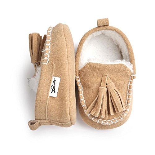 Moresave - botas de nieve Bebé-Niños caqui