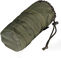 Botella de agua militar táctico Molle bolsa cordón Open Top y ...