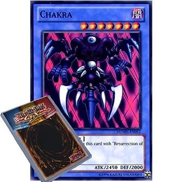 kaartspellen NUMH-EN052 Chakra Super Rare 1st Edition Mint YuGiOh Card