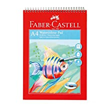 Faber-Castell wd793413 A4 140 g/m2 acuarela Pad